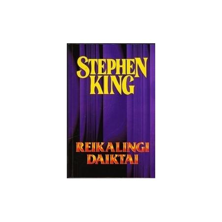 Reikalingi daiktai (20)/ King S.