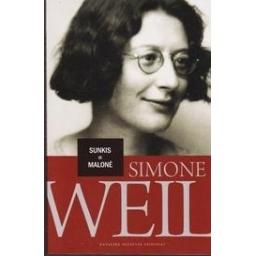 Sunkis ir malonė/ Weil Simone