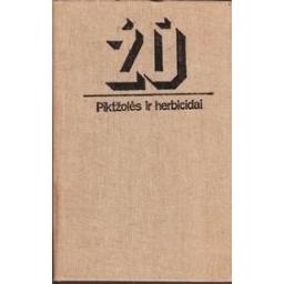 Piktžolės ir herbicidai/ Monstvilaitė J.
