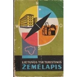 Lietuvos TSR turistinis žemėlapis/ Broga L., Danilevičius E.