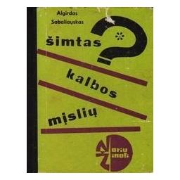 Šimtas kalbos mįslių/ Sabaliauskas A.