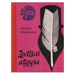Žodžiai atgyja/ Sabaliauskas A.