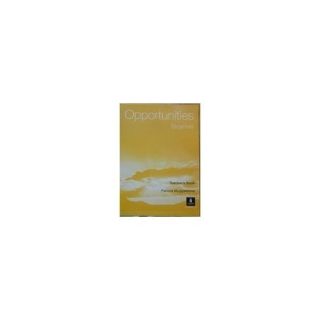 Opportunities Beginner Teacher's Book/ Mugglestone P.