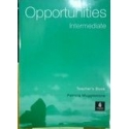 Opportunities: Opportunities Inter Cee Tbk/ Mugglestone P.