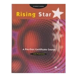 Rising star. A pre-first certificate course. Student's book
