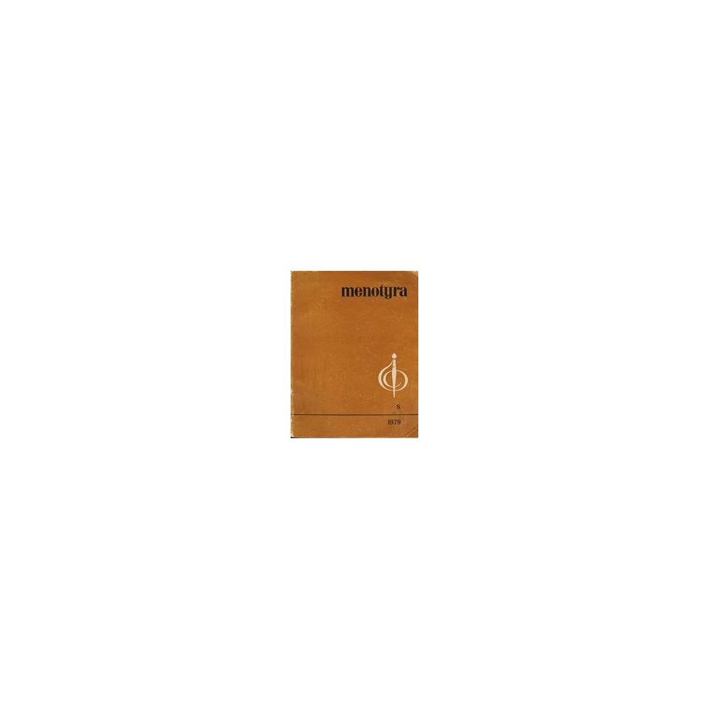 Menotyra 8/ Autorių kolektyvas