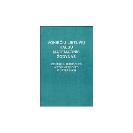 Vokiečių-lietuvių kalbų matematinis žodynas/ Mačienė V.