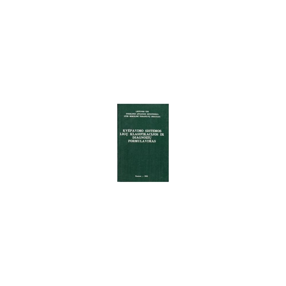 Žiugžda Alfredas- Kvėpavimo sistemos ligų klasifikacijos ir diagnozių formulavimas