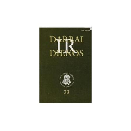 Darbai ir dienos (23 tomas)/ Gudaitis L.