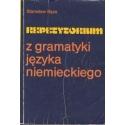 Repetytorium z gramatyki języka niemieckiego/ Bęza, Stanisław