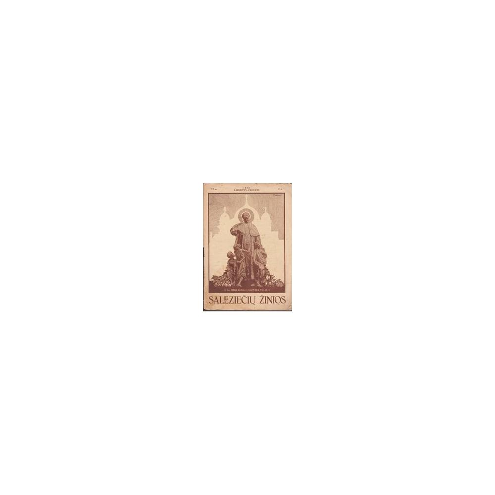 Saleziečių žinios/ 1932/6