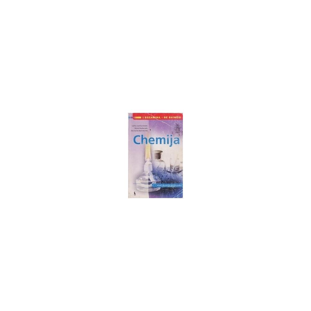 Chemija. Kad mažiau klystume/ Bačinskienė S. Ir kiti