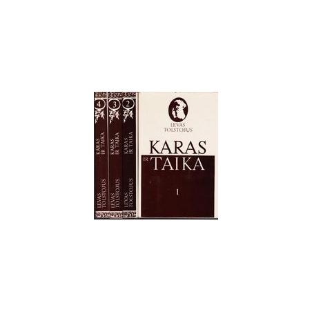 Karas ir taika (4 knygos)/ Tolstojus L.