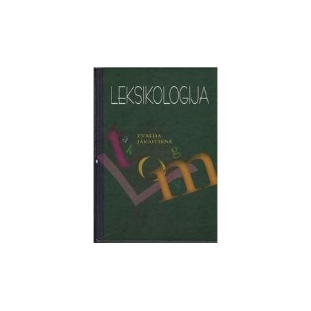 Leksikologija/ Jakaitienė E.