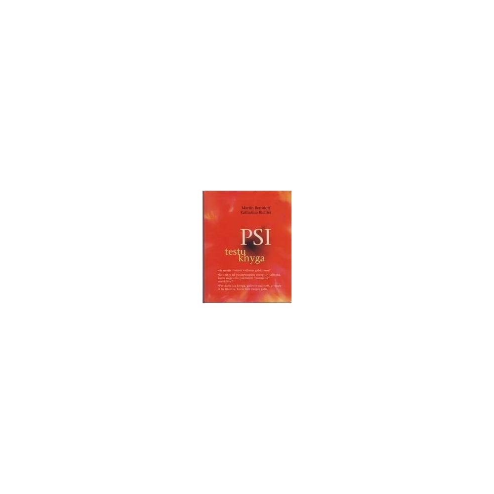 PSI testų knyga/ Bensdorf Martin