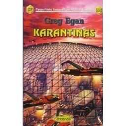 Karantinas (228)/ Egan G.