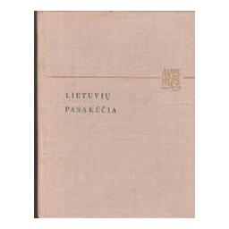 Lietuvių pasakėčia/ Vanagas V.