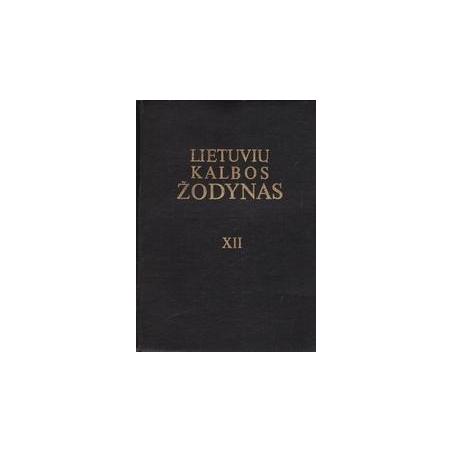 Lietuvių kalbos žodynas (XIII tomas)