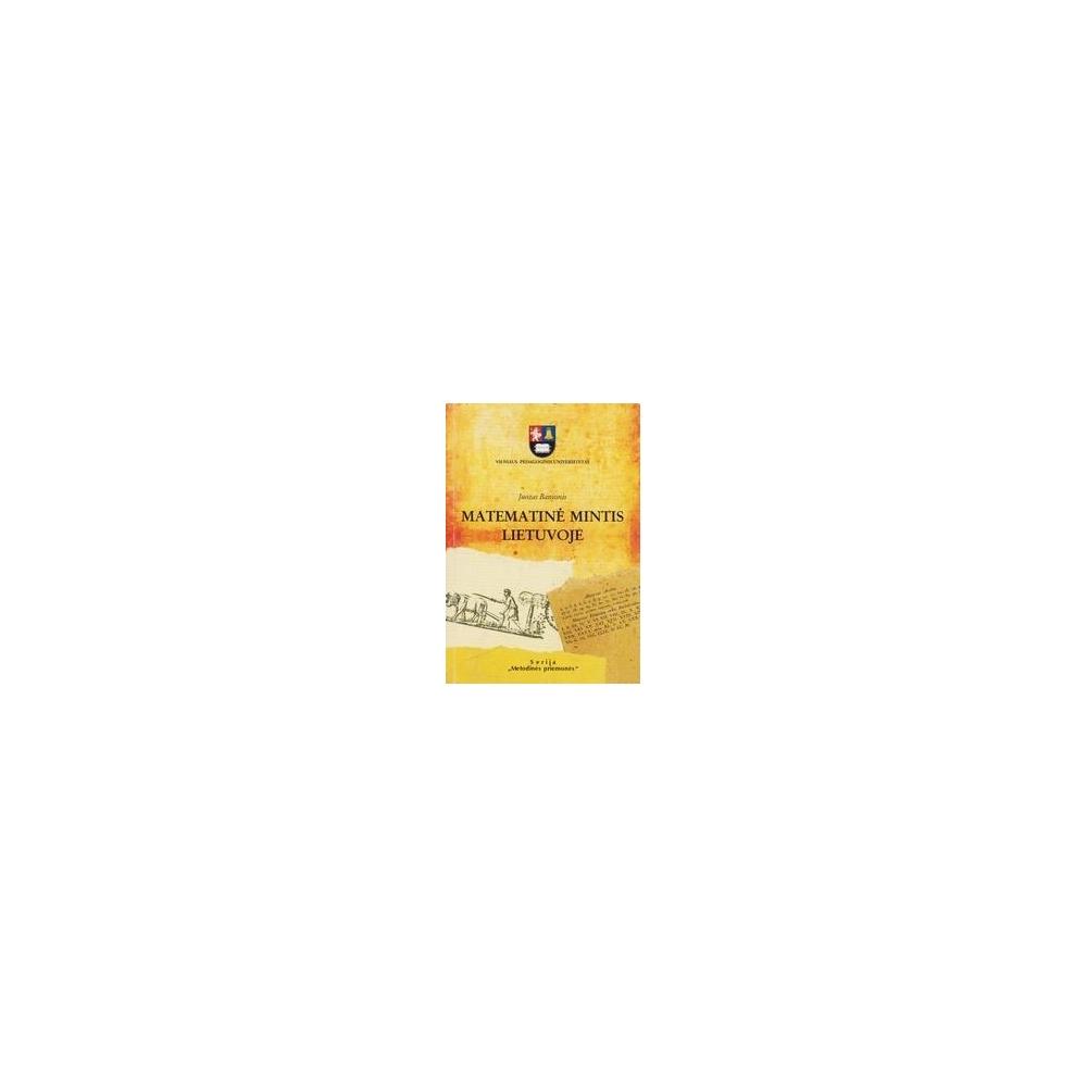 Matematinė mintis Lietuvoje/ Banionis J.