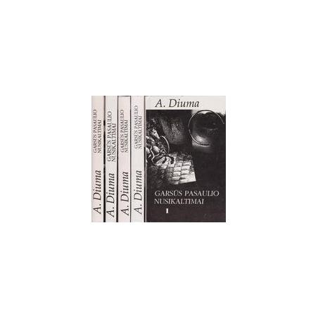 Garsūs pasaulio nusikaltimai (5 dalys)/ Diuma A.