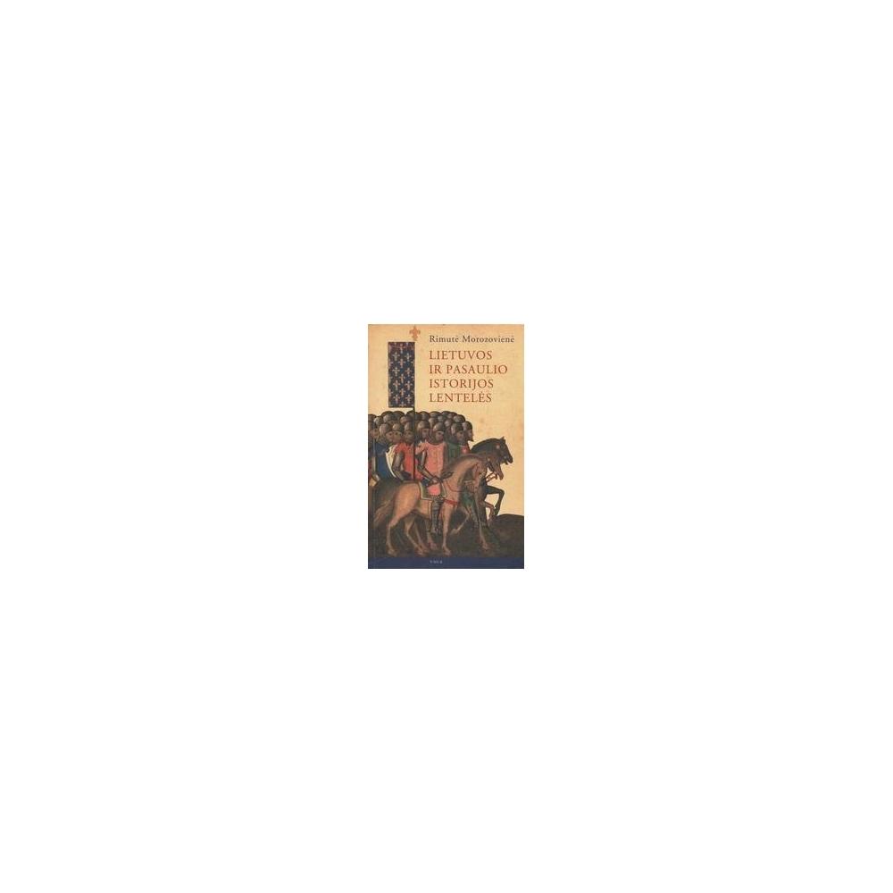 Lietuvos ir pasaulio istorijos lentelės/ Morozovienė R.