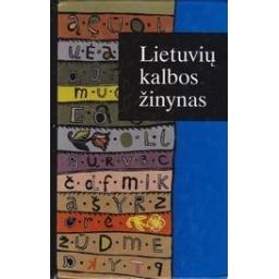 Lietuvių kalbos žinynas/ Kniūkšta P.