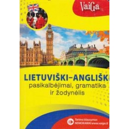 Lietuviški-angliški pasikalbėjimai, gramatika ir žodynėlis