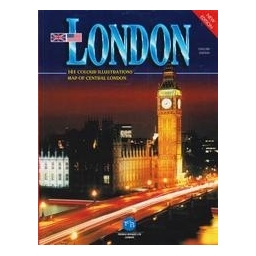 London: 161 Color Illustrations, Map of Central London
