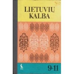 Lietuvių kalba 9-11/ Laigonaitė A.