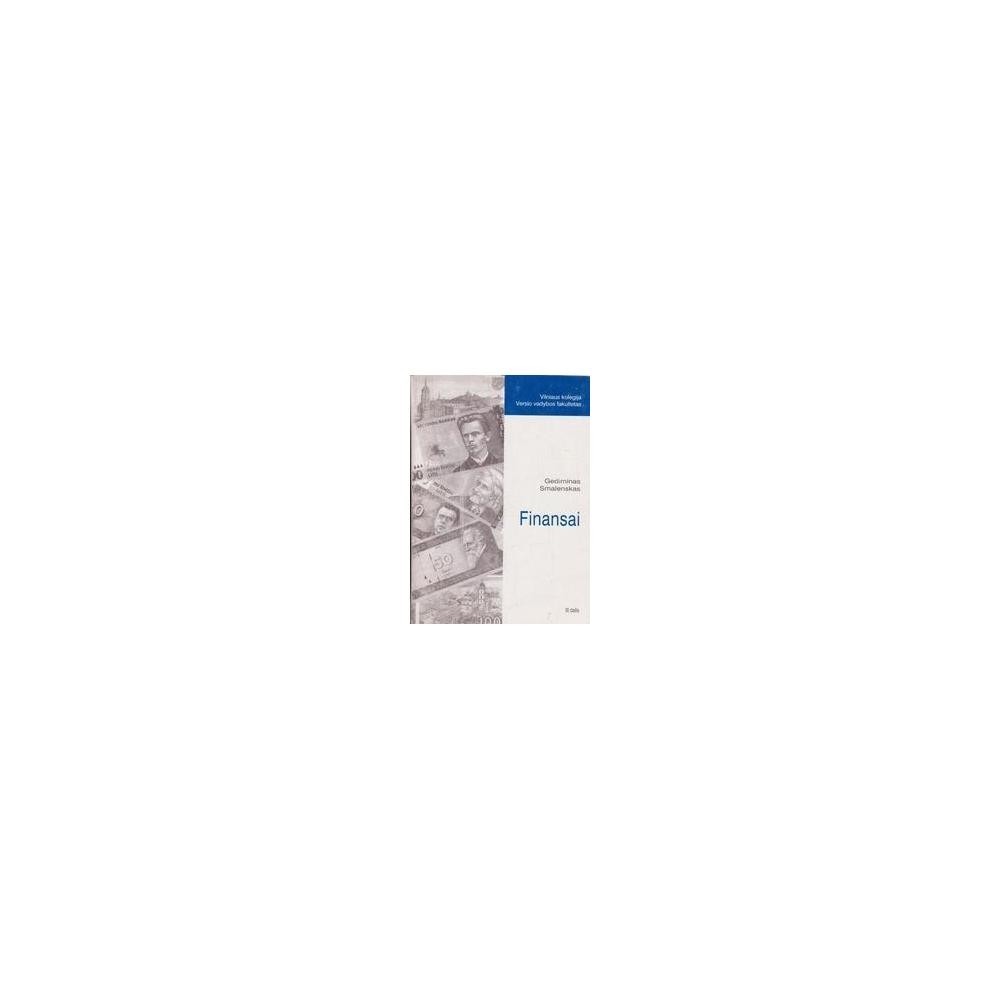 Finansai (3 dalis)/ Smalenskas G.