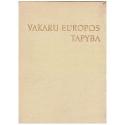 Vakarų Europos tapyba/ Ziutelienė B.