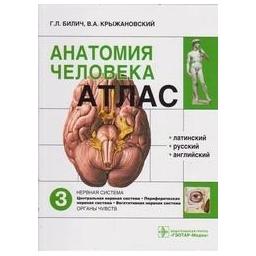 Анатомия человека: атлас. В 3-х томах Том 3. Нервная система/ Билич Г.Л., Крыжановский В.А.