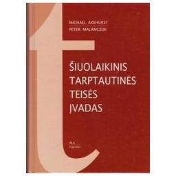 Šiuolaikinis tarptautinės teisės įvadas/ Akehurst M.