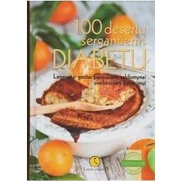100 desertų sergantiems diabetu/ Tvirbutienė A.