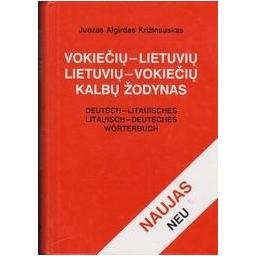 Vokiečių-lietuvių lietuvių-vokiečių kalbų žodynas/ Križinauskas J. A.