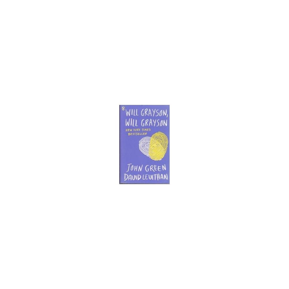 Will Grayson, Will Grayson/ Green J.