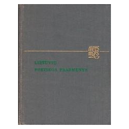 Lietuvių poetikos pradmenys/ Girdzijauskas J.