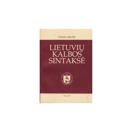 Lietuvių kalbos sintaksė/ Labutis V.