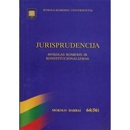 Jurisprudencija 64(56)/ Mykolo Romerio universitetas