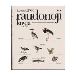 Lietuvos TSR raudonoji knyga/ Autorių kolektyvas