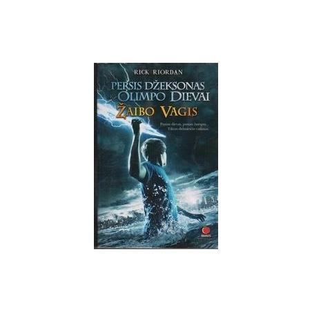 Persis Džeksonas ir Olimpo dievai. Žaibo vagis (1 knyga)/ RiordanR.