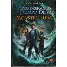 Persis Džeksonas ir Olimpo dievai. Monstrų jūra/ Riordan R.