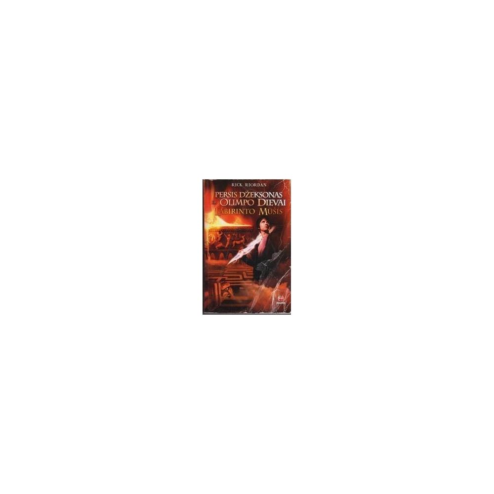 Persis Džeksonas ir Olimpo dievai. Labirinto mūšis / Riordan R.