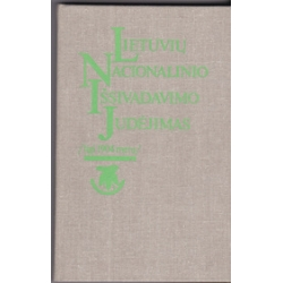 Lietuvių nacionalinio išsivadavimo judėjimas ligi 1904 metų/ Genzelis B. ir kiti