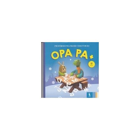 OPA PA +. Priešmokyklinuko skaitiniai (2 dalis)/ Skidulienė J., Vyšniauskienė V.
