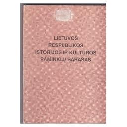 Lietuvos respublikos Istorijos ir Kultūros paminklų sąrašas/ Dakanis Br.