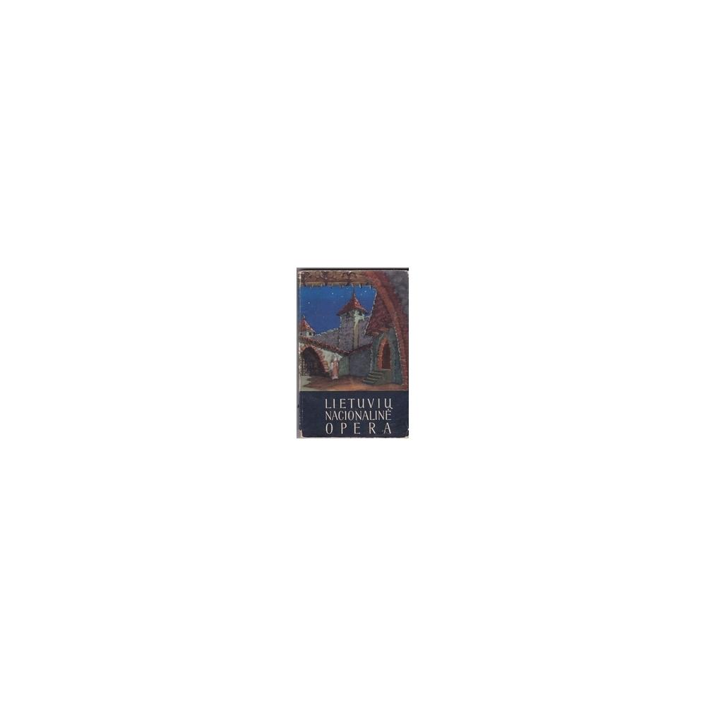 Lietuvių nacionalinė opera/ Yla St.