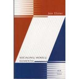 Socialinių mokslų elementai/ Elster J.