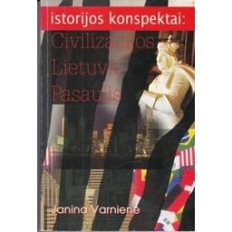 Istorijos konspektai: civilizacijos, Lietuva, pasaulis/ Varnienė J.