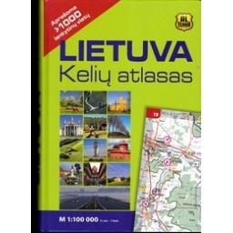 Lietuva. Kelių atlasas/ Autorių kolektyvas